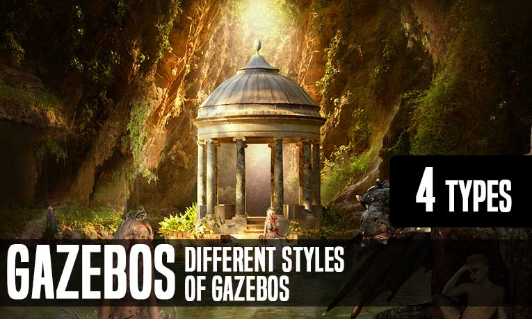Different Styles Of Gazebos