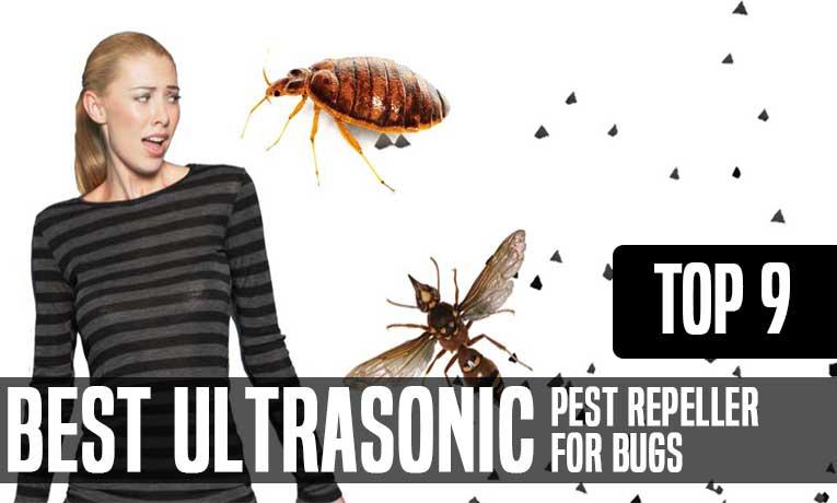 best ultrasonic bug repeller