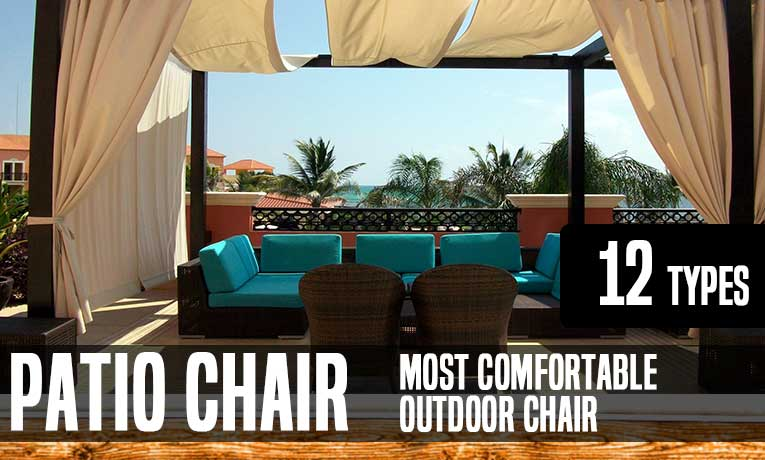 Types Of Patio Chairs