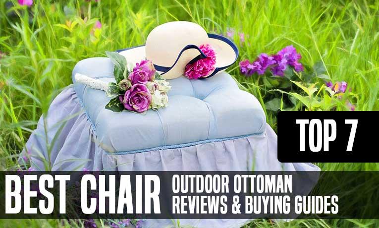 best outdoor ottoman