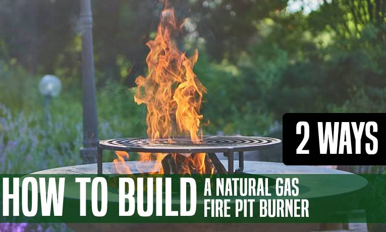 How to Build a Natural Gas Fire Pit Burner